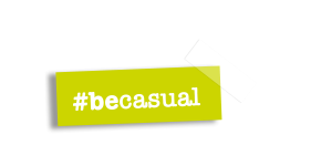 be casual