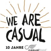 10 Jahre casualfood